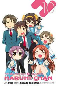 Melancholy of Suzumiya Haruhi-chan Graphic Novel 10