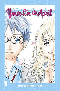 Your Lie In April Graphic Novel 01