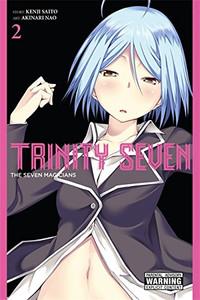 Trinity Seven Graphic Novel 02