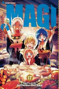 Magi The Labyrinth of Magic Graphic Novel Vol. 17