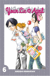 Your Lie In April Graphic Novel 06