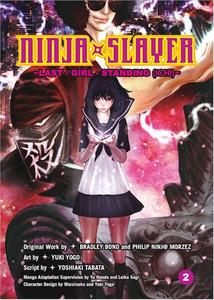 Ninja Slayer Graphic Novel Vol. 02 Last Girl Standing Part 1