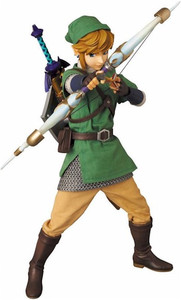 Legend of Zelda Skyward Sword - Link RAH Action Figure