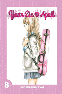 Your Lie In April Graphic Novel 08