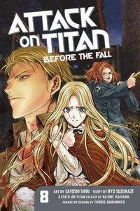 Attack on Titan: Before the Fall Graphic Novel 08