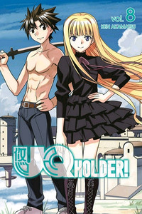 UQ Holder Graphic Novel Vol. 08