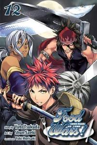 Food Wars! Shokugeki no Soma Graphic Novel 12