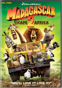 Madagascar: Escape 2 Africa DVD