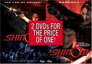 Shinobi : The Law of Shinobi/Runaway DVD (Live Action)