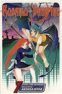 Rosario+Vampire Graphic Novel 07