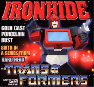 Transformers Ironhide Statue