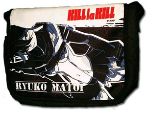 KILL la KILL Messenger Bag - Ryuko Matoi (Black)