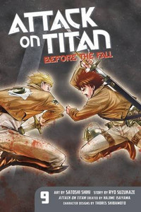 Attack on Titan: Before the Fall Graphic Novel 09