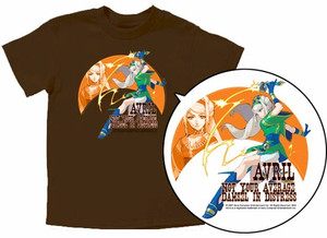 Wild Arms 5 T-Shirt: Avril (Brown)