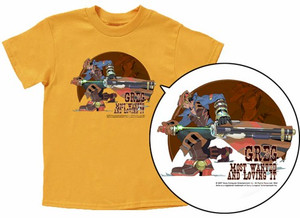 Wild Arms 5 T-Shirt: Greg (Yellow)