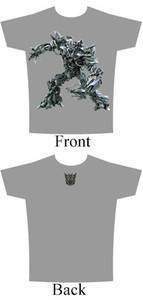 Transformers T-Shirt Movie Megatron (Grey)
