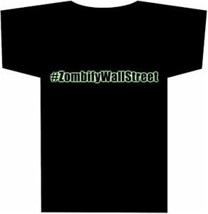 ZombifyWallStreet LogoT-Shirt (Black)