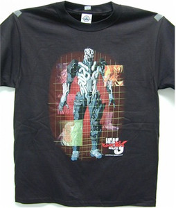 Heat Guy J - Grid T-Shirt #2970 (Black)