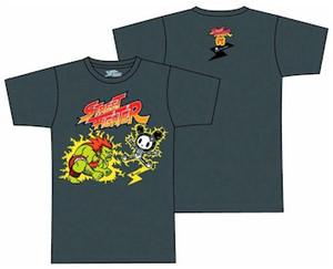 Street Fighter x Tokidok Blanka T-Shirt (Grey)