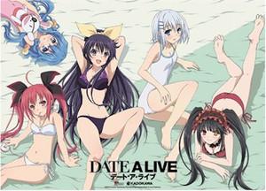 Date A Live Wallscroll - Main 4 with Kurumi in Swimsuit