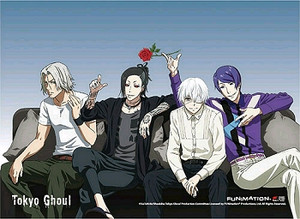 Tokyo Ghoul Wallscroll - Couch