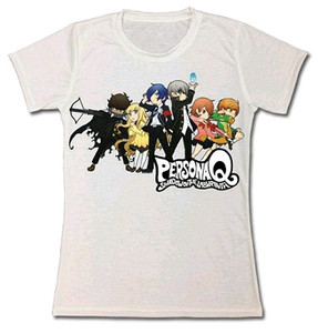 Persona Q T-Shirt - SD Group Line-Up