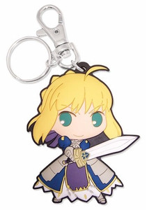 Fate/Stay Night PVC Keychain - SD Saber