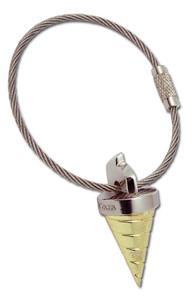 Gurren Lagann Metal Keychain - Core Drill