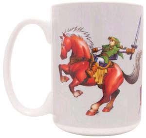 Legend of Zelda Mug - Ocarina of Time: Link on Epona