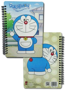 Doraemon Spiral Notebook