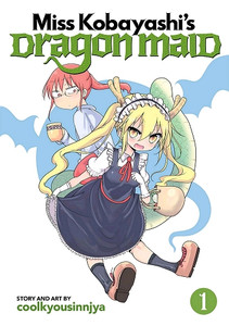 Miss Kobayashi's Dragon Maid Graphic Novel 01
