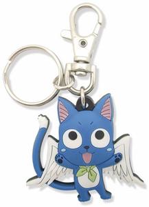 Fairy Tail Keychain - SD Happy #5095