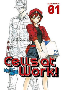 Cells at Work! Graphic Novel 01