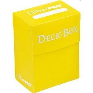 Ultra Pro Deck Box - Yellow