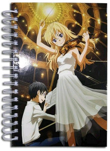 Your Lie In April HC Notebook - Group Music
