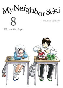 My Neighbor Seki Graphic Novel 08