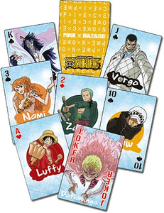 One Piece Punk Hazard Playing Cards