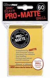 Ultra Pro Pro-Matte Sleeves Small (60) - Yellow