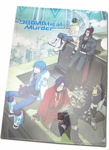DRAMAtical Murder File Folder - Sitting Rooftop