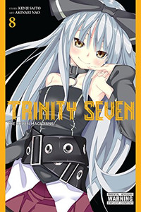Trinity Seven Graphic Novel 08