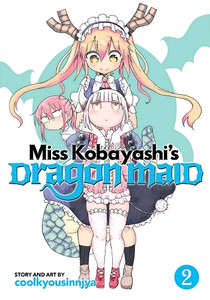 Miss Kobayashi's Dragon Maid Graphic Novel 02