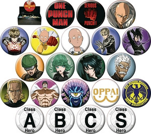 One-Punch Man Button Pin (Random)