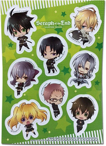 Seraph of the End Sticker Sheet - Group