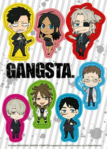 Gangta Sticker Sheet - SD