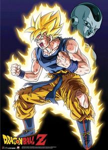 Dragon Ball Z Wallscroll - Super Saiyan Power Up Frieza