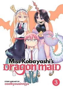 Miss Kobayashi's Dragon Maid Graphic Novel 03