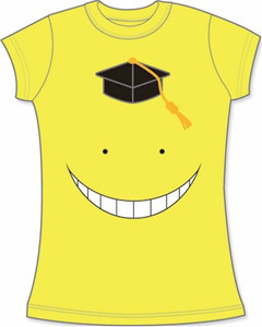 Assassination Classroom Babydoll T-Shirt Koro Sensei Face