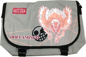 One Piece Messenger Bag - Doflamingo