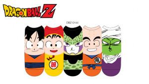 Dragon Ball Z Lowcut Socks Faces
