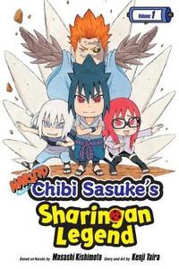Naruto: Chibi Sasuke's Sharingan Legend Graphic Novel Vol. 1